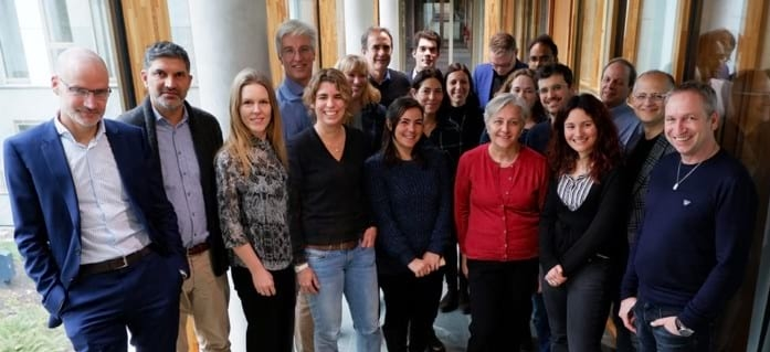 The ESPACE consortium during their first joint meeting in Berlin 2019.
